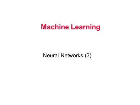 Machine Learning Neural Networks (3). Understanding Supervised and Unsupervised Learning.