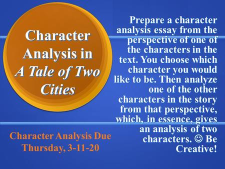 A Tale of Two Cities Essays and Criticism