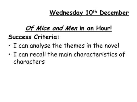 critical essay mice and men Critical lens for romeo and juliet and of mice and men, duff brenna quote essay by lexi27 critical lens for romeo and juliet and of the critical.