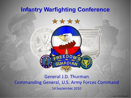 Infantry Warfighting Conference