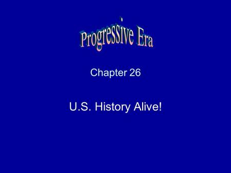 Chapter 26 U.S. History Alive!. Muckrakers Journalist who exposed evils in society.