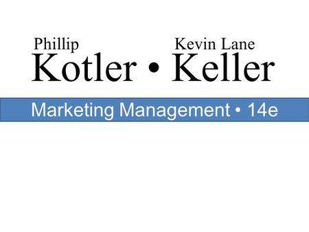 kotler keller In text: (kotler and keller, 2011)biliography/reference list kotler, p & keller, k 2011 marketing management 14th edition, upper saddle river, nj, prentice hall for future reference, there are various online services to create the format of various citations.
