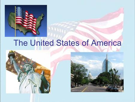 The United States of America. The USA The country is situated in North America. It is the 4th largest country in the world.
