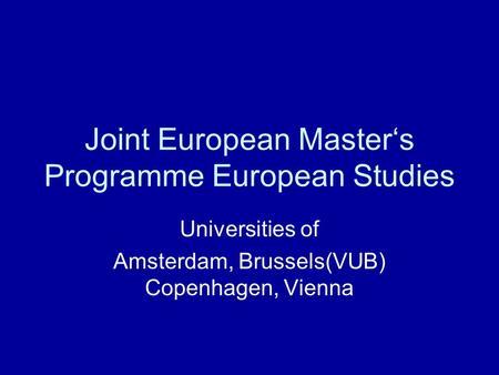 Technikum wien master thesis ppt