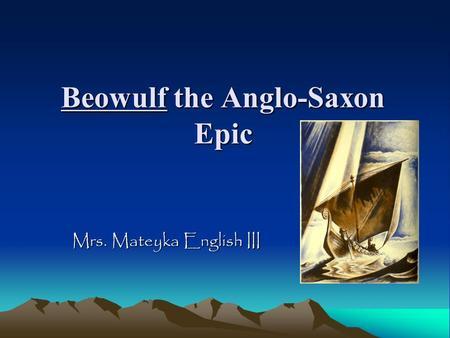 Beowulf (modern English translation)