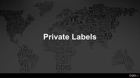 Private Labels. Trader Info Changes have been made to the Trader Information screen to allow FCMs to see exactly which services traders are being billed.