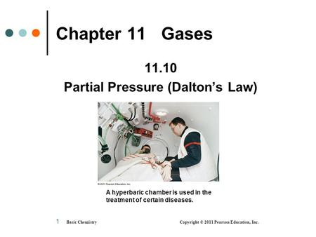 Partial Pressure (Dalton's Law)