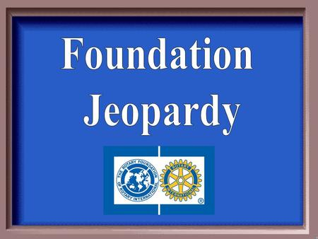 Mission Statement To enable Rotarians to advance world understanding, goodwill, and peace through the improvement of health, the support of education,
