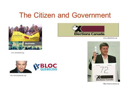 The Citizen and Government