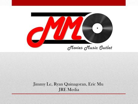 Movies Music Outlet Jimmy Le, Ryan Quinagoran, Eric Mu JRE Media.