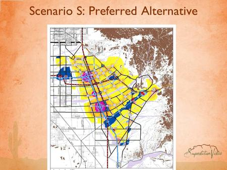 Scenario S: Preferred Alternative. Scenario S: Creating Mixed-use Centers Around Major Transportation Areas Is The Primary Driver Of Improved Transportation.