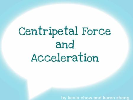 Centripetal Acceleration is a vector quantity because it has both direction and magnitude. Centripetal Acceleration is defined as an acceleration experienced.