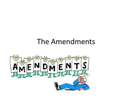 Unit 1 Part II The Amendments. 1 st Freedom of religion, speech, press, assembly, and to petition the government.