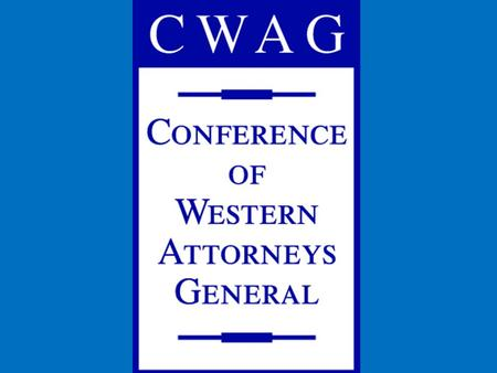 Update on State Compacting Authority Litigation CWAG August 2009 Stephanie Striffler Senior Assistant Attorney General Oregon Dept of Justice.