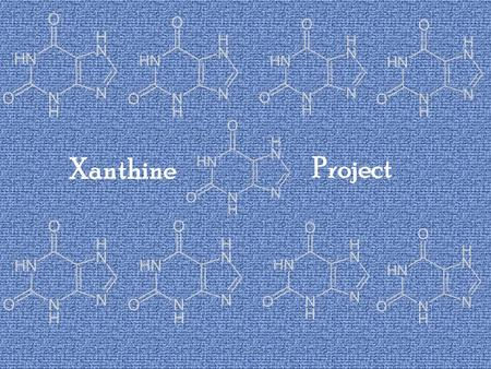 Xanthine Project. OBJECTIVE DOES CAFFIENE AFFECT MOLD GROWTH?