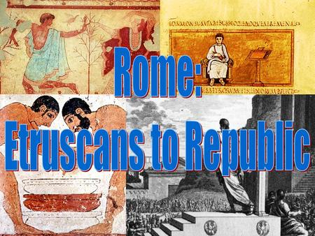 The Myth Romulus and Remus were twin brothers born to the gods Mars and Venus and who were raised by a she-wolf. They built a city near the point where.