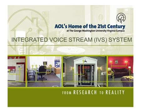 INTEGRATED VOICE STREAM (IVS) SYSTEM. THE OBJECTIVE ● Audio streams can be used to deliver both information and music ● Examples of audio sources: ● Music.