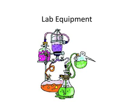 Lab Equipment. 1. Meter Stick Measures distance. Be sure to measure in cm or m, not in inches. 1 m or 100 cm.