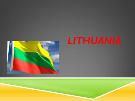 LITHUANIA.  Total population of Lithuania is 3.655.412 inhabitants.  Lithuania is a country in northeast Europe, on the Baltic Sea. Lithuania is the.