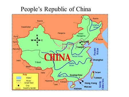 People's Republic of China. DESCRIPTION The flag of China was officially adopted on October 1, 1949. The red of the Chinese flag symbolizes the communist.
