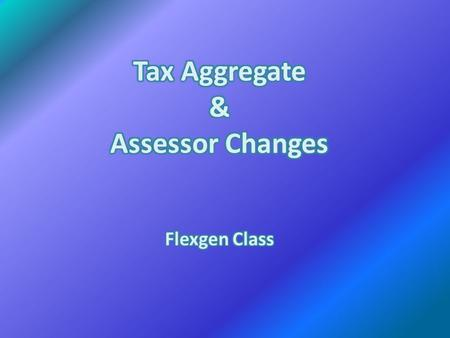 There are two (2) Tax Aggregate Reports to choose from: Current Tax Aggregate Report, or the Tax Aggregate by Tax Year. (Menus, Reports, Audit) Balancing.
