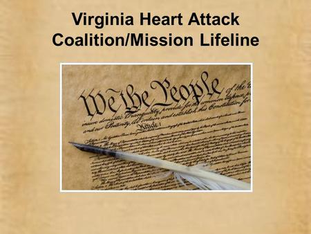Virginia Heart Attack Coalition/Mission Lifeline.