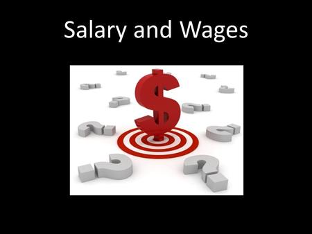 Salary and Wages. Spending Money We looked at spending money at a store We had a budget that we were not supposed to go over Were we able to get Joey's.