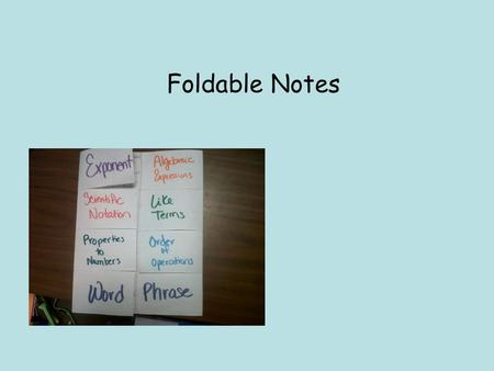 Foldable Notes. What historical event or fact can you make a connection to… 1)Half Court Only 2)Pay to Use the Gym 3)Principal's Office Far from Gym 4)Must.