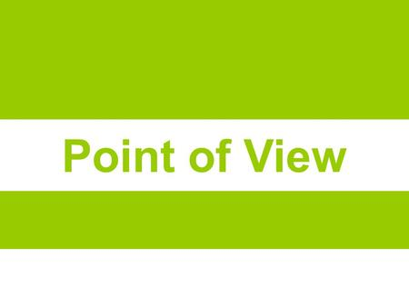 "Point of View. ""A POV is a compelling statement of user, need, and insight that focuses and inspires your design process."" Provide focus/Frame the problem."