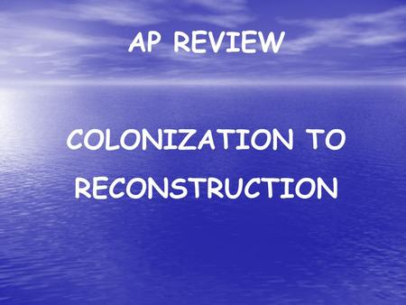 """ap us history colonization -disappeared by 1590 """"lost colony"""" 1588 -england defeats spanish armada - england becomes superpower begins colonization soon after 1607 jamestown -joint stock company investor-backed -backer company virginia company - captain john smith leader -martial law instituted for survival 1609-1610."""
