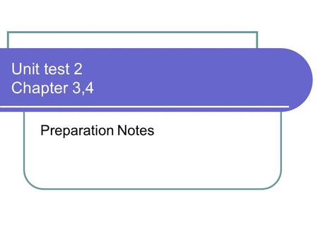 Unit test 2 Chapter 3,4 Preparation Notes. Reading Please read chapter 3 and Note the following concepts Canada's Constitution p.52 British North American.