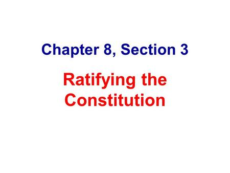 analyze the reason for the anti federalist A discussion of the constitutional topic of the federalists and anti-federalists and ratification us constitution the constitution the constitution us constitution (full text) this is true but the reason was an eminently practical one.