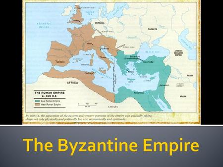  Diocletian had originally split the Roman Empire.  Constantine reunited the empire, but after his rule was over it continued as two empires.  Constantine.