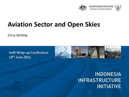 Aviation Sector and Open Skies Chris Whittle IndII Wrap-up Conference 14 th June 2011.