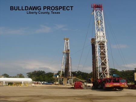 BULLDAWG PROSPECT Liberty County, Texas. HOUSTON, Oct. 5, 2005 PRNewswire-First Call -- Carrizo Oil & Gas, Inc. (Nasdaq: CRZO) announced today that.