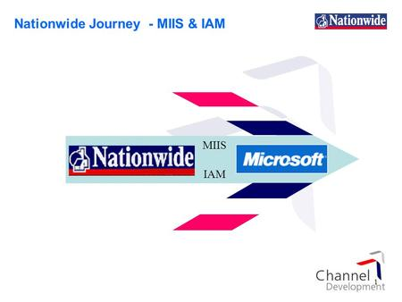 1 MIIS IAM Nationwide Journey - MIIS & IAM. 2 Agenda 1.Introduction Original objectives Definition of terms 2.MIIS 3.IAM Introduction Definition Approach.