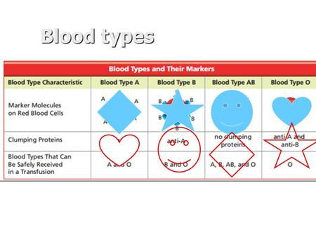Blood types. April 30, 2015 You need: Clean paper / pencil Simple Machines foldable Warm Up: What is your favorite simple machine? Why?