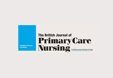 Targeting the respiratory nurse in primary care Practical and informative editorial Easy-to-read format Published quarterly The only journal specifically.