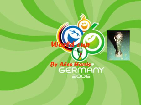World cup By Alex Harris. When did England win the world cup? 1976 1966 1996.