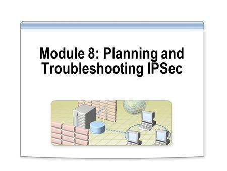 Module 8: Planning and Troubleshooting IPSec. Overview Understanding Default Policy Rules Planning an IPSec Deployment Troubleshooting IPSec Communications.