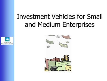 Investment Vehicles for Small and Medium Enterprises.