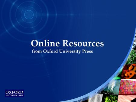 www.socialexplorer.com Online Resources from Oxford University Press.