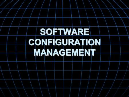 SOFTWARE CONFIGURATION MANAGEMENT. Change is inevitable when computer software is built. And change increases the level of confusion among software engineers.