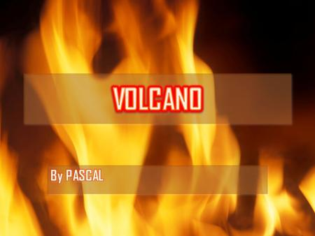 What is a volcano? In reality a volcano is basically a mountain full of lava coming from the earth core. The lava come from the earth mantle when the.