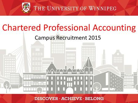 Chartered Professional Accounting Campus Recruitment 2015.