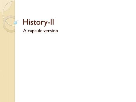 History-II A capsule version. Independence to Today Haiti, 1791-1804 ◦ Social Revolution/Slave revolt ◦ Failed Independence, SpanAm: 1808-1826 One failed.