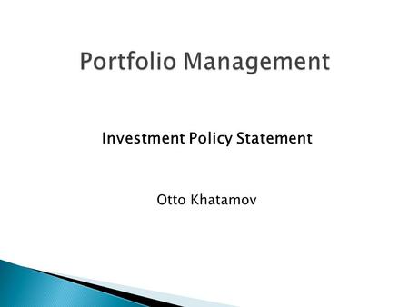 the asset allocation decision chapter 2 pdf