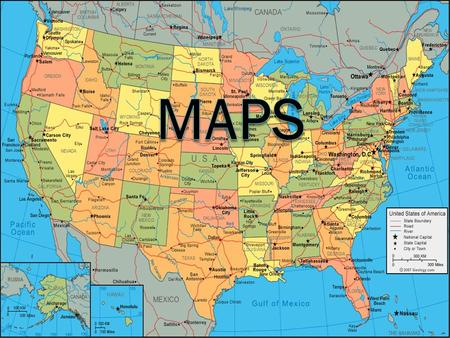 . What is a Map? An illustration of a whole or part of an area. The job of a map is to describe spatial relationships of specific features that the map.