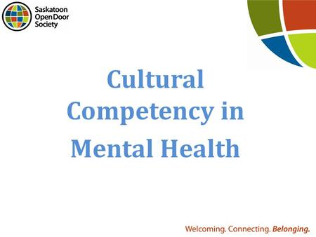 Cultural Competency in Mental Health. Individualism vs Collectivism Who you are and what you do is a reflection of yourself. Who you are and what you.
