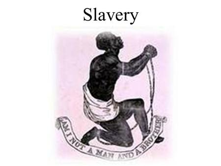 Slavery. Growth of Slavery Why Africans? Americans needed laborers; It was harder for Africans to run away than Native Americans African strengths agricultural.